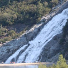Nugget Falls at Glacier Bay