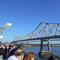 New Orleans, Louisiana - Huey Long Bridge