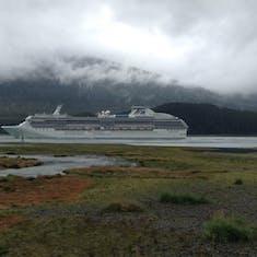 Coral leaving Juneau