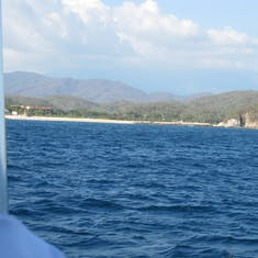 Huatulco, Mexico - White sand beach reachable only by sea