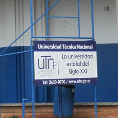 Puntarenas, Costa Rica - Thechnical University in town.