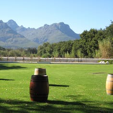 German winery South Africa--west coast
