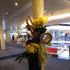 Lovely floral decorations