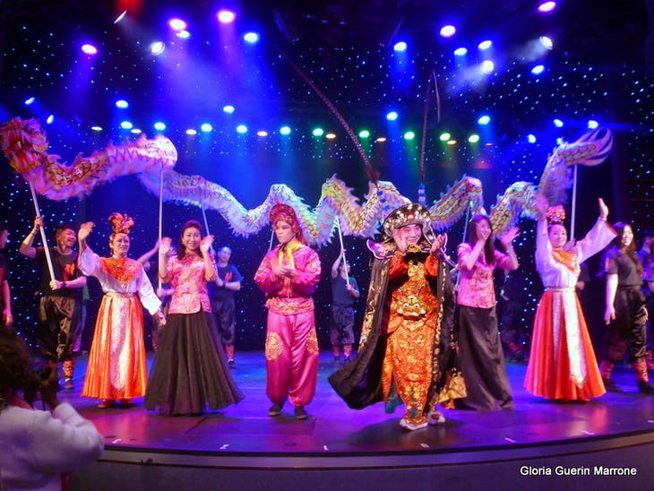 Cultural Show in Queen's Lounge - Amsterdam