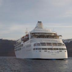 Santorini, Greece - Tendering to Santroini