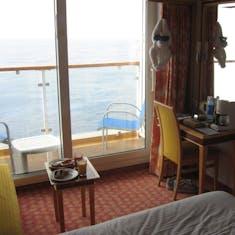 Mid ship balcony - deck 11