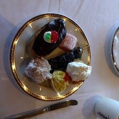 Pastries at High Tea