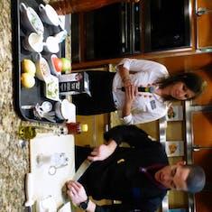 Chef starts his dem Culinary Arts Demonstrtion