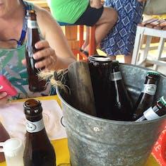 Bucket at the Wet Lizard