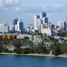 Miami, Florida - Miami Skyline