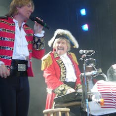 Paul Revere & the Raiders aboard Concerts at Sea