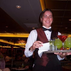 Bring us another round! Mariner of the Seas, Oct. 2004.