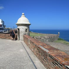 Turret at the Fort