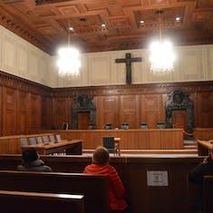 Nuremberg - Inside Courtroom 600