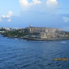 Arrival into San Juan