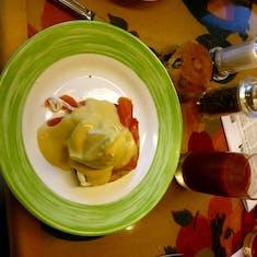 Scottish Eggs Benedict
