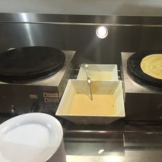 Crepe Station at the Buffet