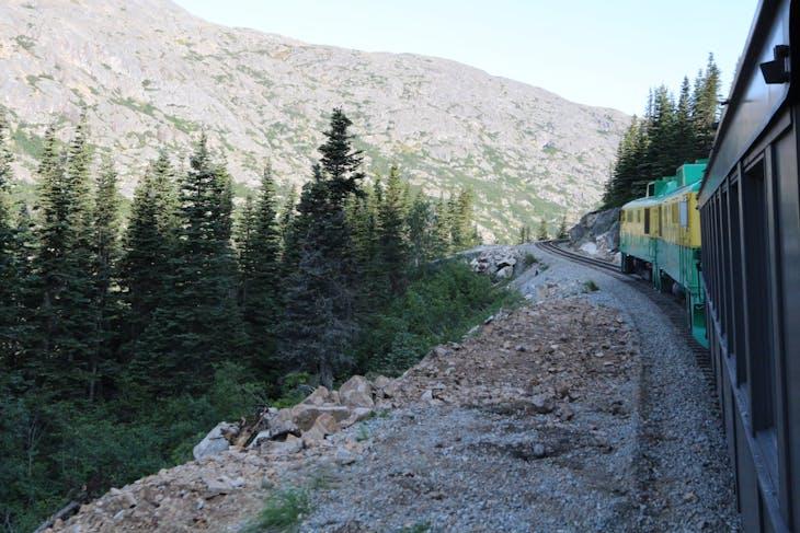 White Pass and Yukon Railway - Coral Princess