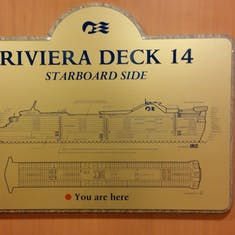 Rivera Deck Sign