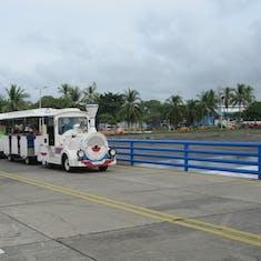 Puntarenas, Costa Rica - Easy way back to the ship.