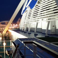 Portside at night