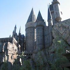 Port Canaveral, Florida - Hogwarts at universal studios islands of adventure