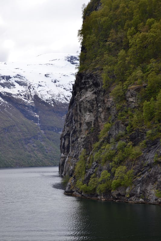 Geiranger, Norway - A bend in the fjord