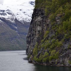 A bend in the fjord