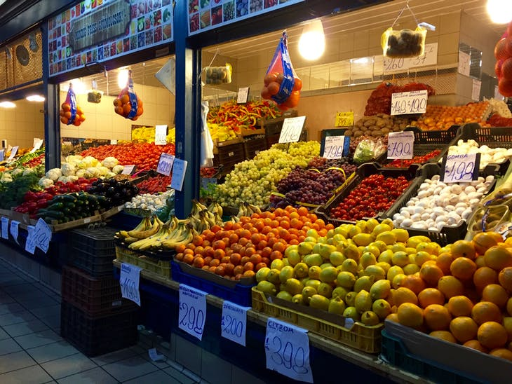 Budapest - Central Market Hall - Viking Jarl