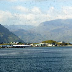Dutch Harbor, Alaska - View from the ship after leaving Dutch Harbor