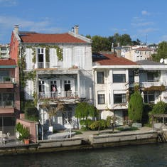 Homes on the Bosphorus--Near Istanbul