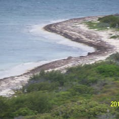 Grand Turk Island - A lookout that we stopped at on the dune buggy excursion.