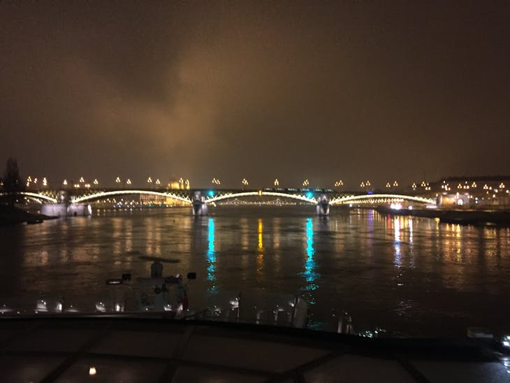 Budapest from the River at Night - Viking Jarl