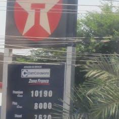 Cartagena, Colombia - Gas prices in Cartagena
