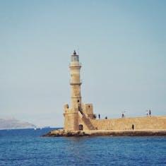 Souda (Chania), Crete - Lighthouse