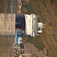 Kodiak, Alaska - Ship in Port - Kodiak Alaska