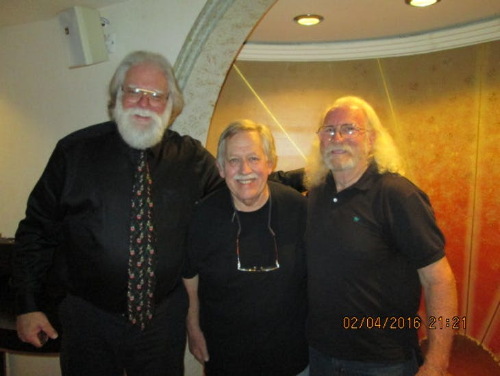 Me, John Conlee & Donnie Winters - Freedom of the Seas