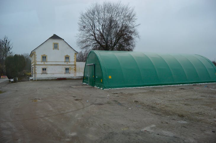 Syrian Refugee Processing Center - Germany/Austria Border - Viking Jarl