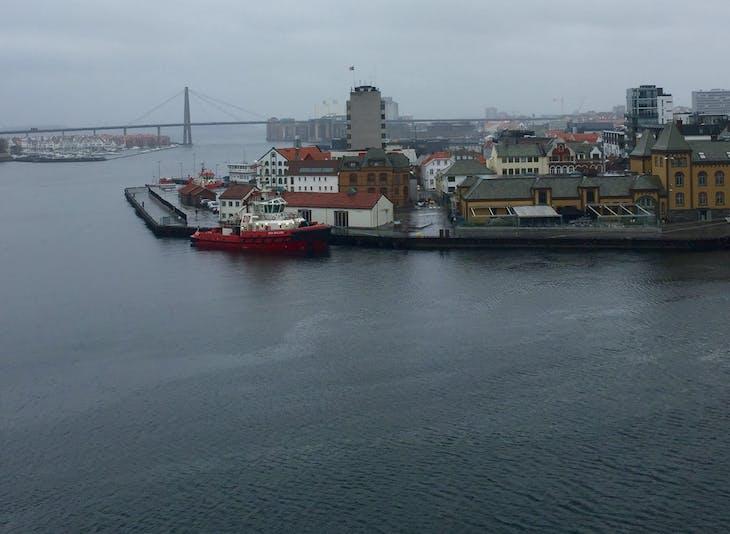 Stavanger, Norway - Overcast spring weather.