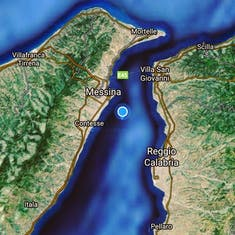 Cruising the Straight of Sicily
