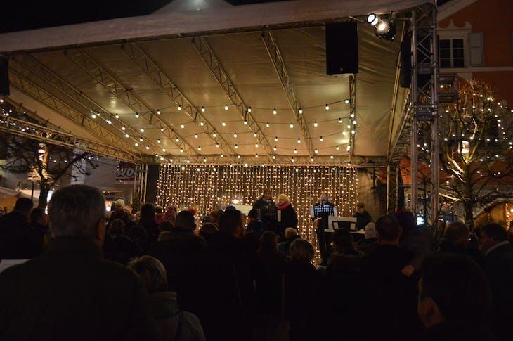 Scharding, Austria Christmas Market - Viking Jarl