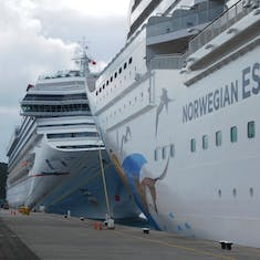 The Norwegian Escape & Carnival Glory, two great ships to sail on