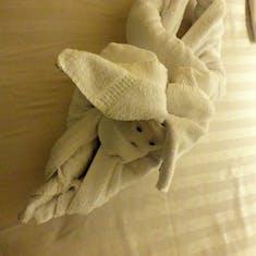 Bunny Towel Animal
