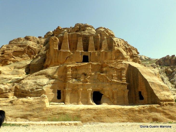 Sandstone Monument - Petra - Amsterdam