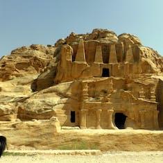 Sandstone Monument - Petra
