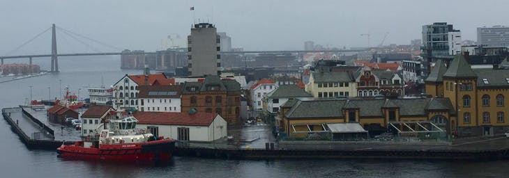 Stavanger, Norway - Overcast spring weather