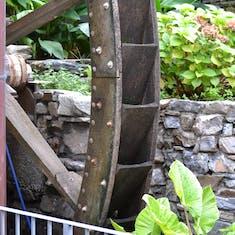 Ornamental mill wheel