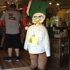 The Key Lime Pie Man!  My hero!
