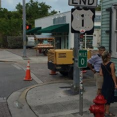 End of the Road or is it the beginning in Key West....
