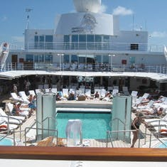 Pool Deck on Seven Seas Navigator